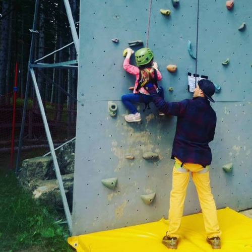 piane arrampicata bimbi